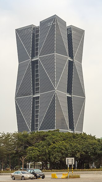 China Steel - China Steel Corporation Headquarters in Kaohsiung.