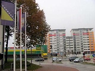 Istočno Sarajevo City in Republika Srpska, Bosnia and Herzegovina