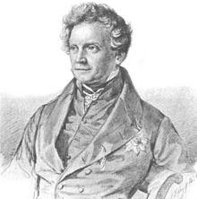 Portrait of Karl August Varnhagen von Ense by Samuel Friedrich Diez. (Source: Wikimedia)