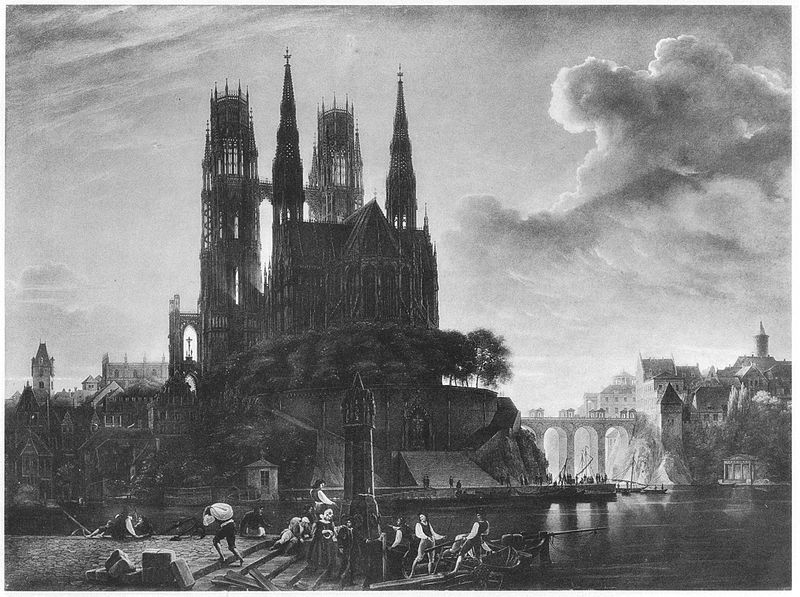Karl Friedrich Schinkel Gotischer Dom.jpg