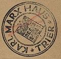 Karl Marx Haus Trier Stempel DE-24 Marx.oct.k.40.jpg