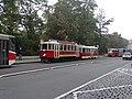 Karlovo náměstí, historická tramvajová souprava (01).jpg