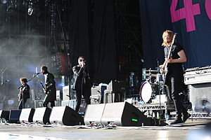 Kasabian - Kasabian performing at Rock am Ring in 2014