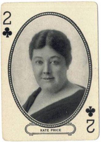 Kate Price (actress) - Image: Kate Price M.J. Moriarty Playing Card