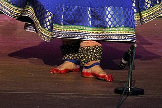 Anklet - Image: Kathak Solo Performance (32)