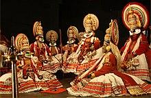 Kathakali -Play met Kaurava.jpg