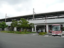 Kayashima station east gate south entrance.jpg