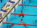 Kazan 2015 - Guy and Lochte after 200m freestyle final.JPG