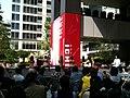 Keiko Bando 03 - with dancers - AKIBA ICHI Golden Week Special Live 2010 (2010-05-05 14.09.30).jpg
