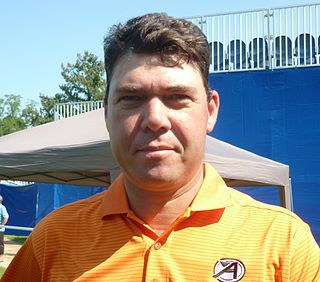 Keith Horne South African professional golfer