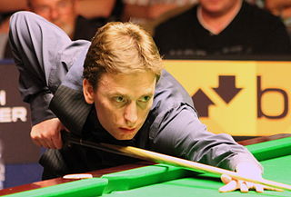 Ken Doherty Irish professional snooker player, 1997 world champion