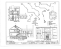 Kensey Johns Sr. House, 2 East Third Street, New Castle, New Castle County, DE HABS DEL,2-NEWCA,5- (sheet 5 of 12).png