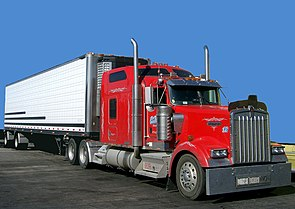 Kenworth W900 semi in red.jpg