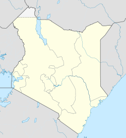 Kisumu is located in Kenya