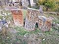 Khachkars near Makravank Monastery (6).jpg