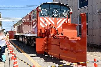 KiYa 143 - KiYa 143-2 at Kanazawa Depot in August 2016