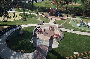 Cranberry Township, Butler County, Pennsylvania - Kids Castle in Cranberry Community Park