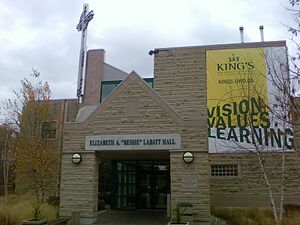 "King's University College (University of Western Ontario) - Elizabeth A. ""Bessie"" Labatt Hall"
