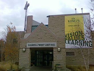 "King's University College (University of Western Ontario) - Elizabeth A. ""Bessie"" Labatt Hall"