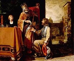 King David Handing the Letter to Uriah 1611 Pieter Lastman.jpg