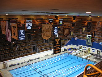 Yale Bulldogs swimming and diving - The Robert J. H. Kiphuth Exhibition Pool, Yale University