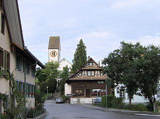 Rifferswil Place in Zurich, Switzerland