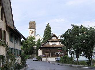 Rifferswil - Image: Kirche Rifferswil