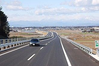 Kita-Kantō Expressway - Expressway and Mt. Nikko