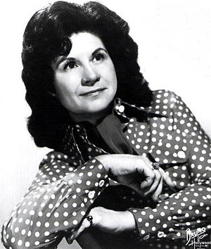 Kitty Wells - 1974 publicity shot of Kitty Wells