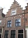 foto van Huis met puntgevel, oorspronkelijk trapgevel