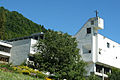 Kloster Ilanz Kirche Frühsommer.jpg