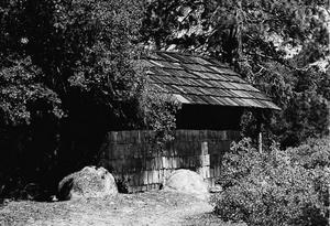 Knapp Cabin - Park Service photo, 1975