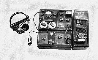 Special Operations Executive - B MK II receiver and transmitter (also known as the B2 radio set)