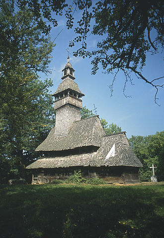 Zakarpattia Oblast - Church in Kolodne.