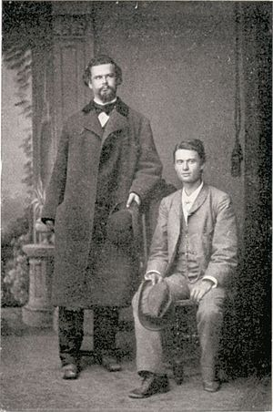 Josef Kainz - Kainz (r.) and King Ludwig II
