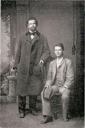 Josef Kainz - Kainz (r.) and King Ludwig II