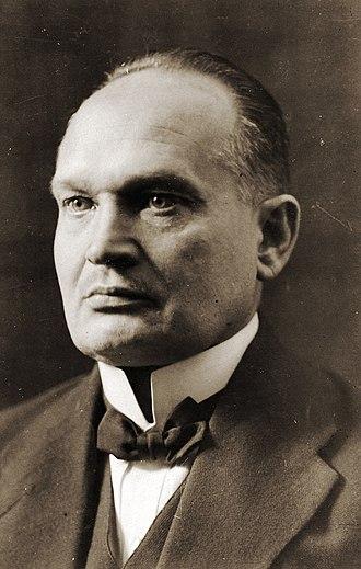 Konstantin Päts - Image: Konstantin Päts