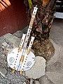 Kora, instrument de musique en pays Mandingue( (appelé Griots) et utilisé aussi par les chasseurs traditionnel appelés Dozo (sur pieds).jpg
