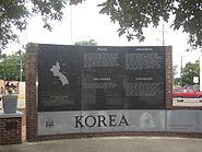 Korean War Memorial in Texarkana, TX IMG 63890