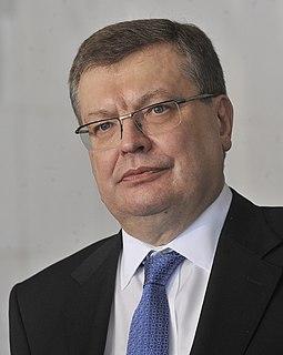 Kostyantyn Gryshchenko Foreign minister ukraine