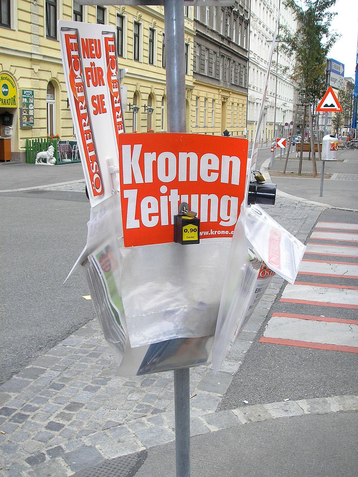 Krone Zeitung Wien
