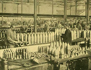 1905 image of Krupp Gunworks in Germany