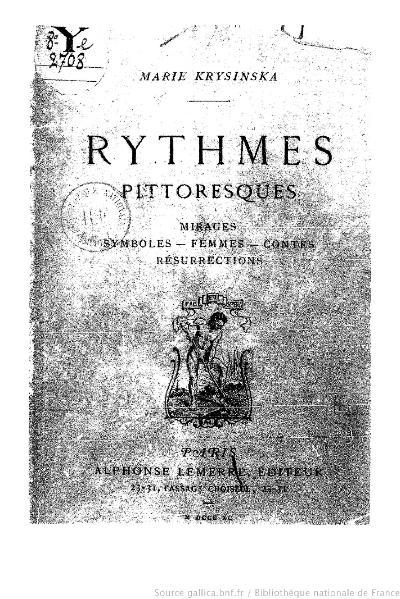 File:Krysinska - Rythmes pittoresques, 1890.djvu