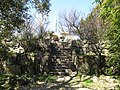 Kuwana castle tower foundation (ruin of Donjon).JPG