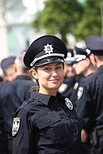 Kyiv Patrol Police Oath Ceremony, July 4, 2015 (18784340864).jpg