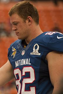 American football player, tight end