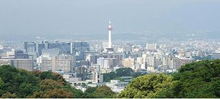 Greater Kyoto Urban Employment Area in Japan