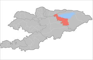 Tong District - Image: Kyrgyzstan Tong Raion