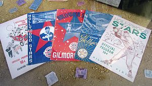Gilmore Field - Hollywood Stars memorabilia