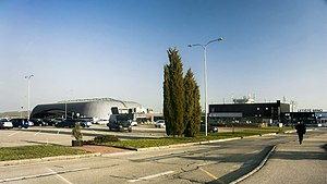 Brno–Tuřany Airport - Terminal buildings